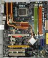 Placa madre original P35 Neo2-FR Placas De Escritorio LGA 775 DDR2 Placa Base