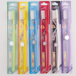 DR.PERFECT 6pcs/lot  cheapest Ultra hard bristle smoking Toothbrush for smokers Toothbrush for smokers