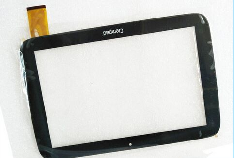 New Capacitive Touch Screen Panel Digitizer Glass Sensor Replacement For Clementoni Clempad Pro 6.0 10 Tablet free Shipping new 7 inch tablet capacitive touch screen replacement for dns airtab m76 digitizer external screen sensor free shipping