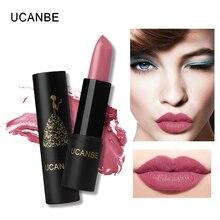 UCANBE Brand Waterproof Matte Lipstick Moisturizer Lip Stick Long Lasting Lip Makeup Cosmetics