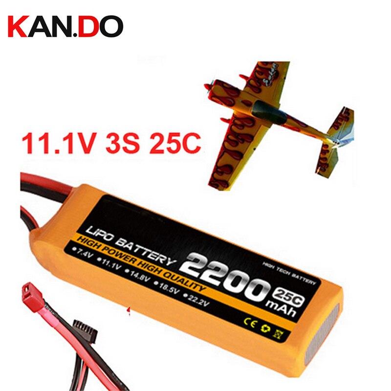 Batería del avión modelo 11.1 V 2200 mAh 25C 3 s aire avión batería drone batería aeromodelling litio polímero batería drone potencia