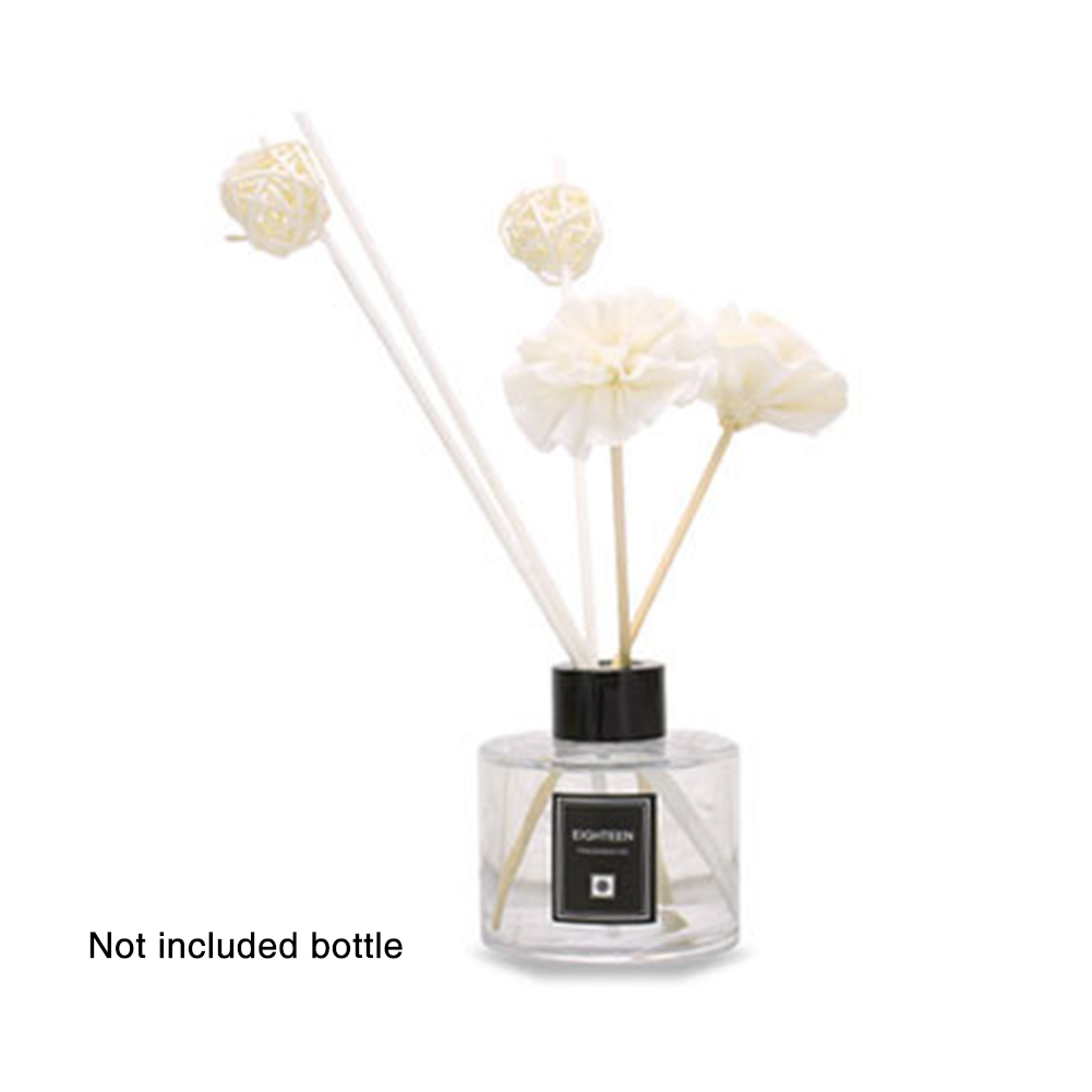 Aroma Diffuser Set Lightweight Car Spa Office Fragrance Relieve Stress Essential Oil Ball Rattan Dry Flower Decoration Home