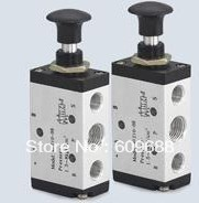 2 positions 3-way 3R Series manual pull valve ,3R210-06 G1/8 Hand Control Valve,Manual