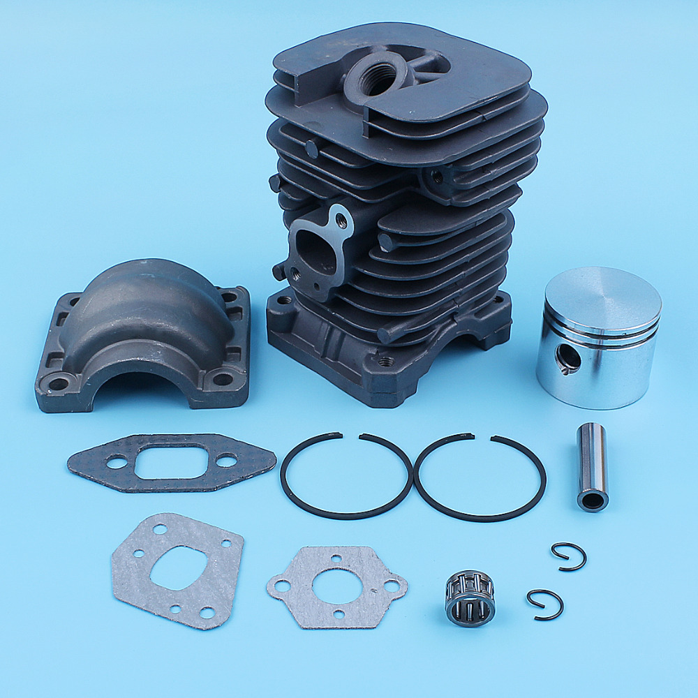 41mm Cylinder Piston Kit For Poulan PP220 PP221 PP260 1950 2150 2250 2450 2550 SM4018 Chainsaw Spare Parts