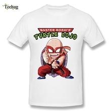 New Streetwear Men Krillin Dragon Ball Z T Shirt Funny Unique Design Master Roshi T-Shirts