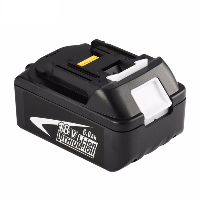 18V 6000mAh font b Power b font Tool Battery Pack for Makita BL1850 BL1860 Replacement Battery