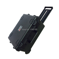 Tricases waterproof safety Case M2620 with long handle and wheels