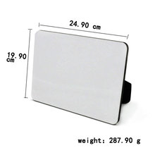 10pcs/lot sublimation blank DIY hardboard photo frames for pictures MDF frame photo painting print decorative unframed panels(China)