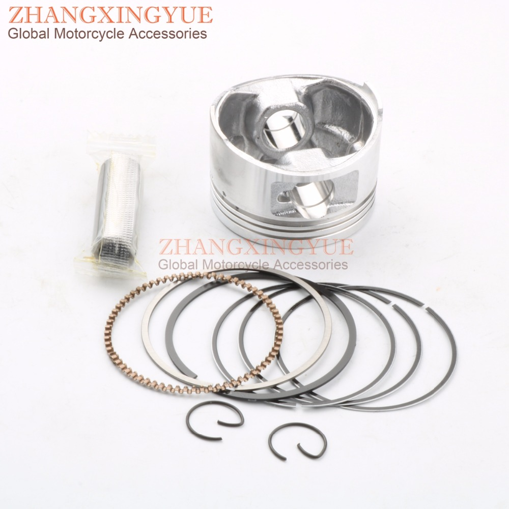 57.4MM/15MM Piston Kit for Yamaha YBR125 XT125R XT125X YBR125 Upgrade To 150cc