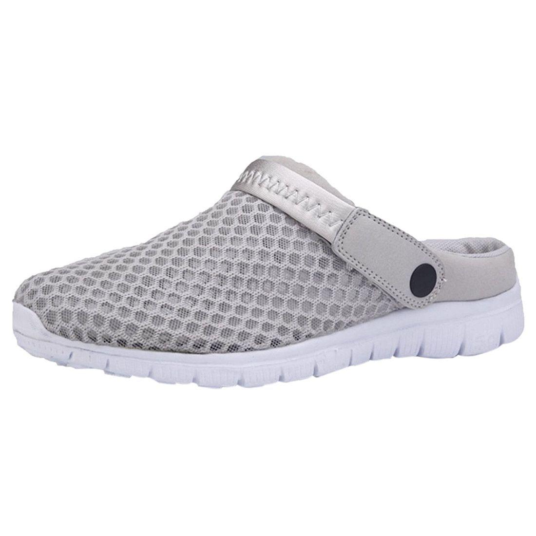 Pantoufles Sandales D'été Paire Casual Respirant Blue gray Chaussures Mesh Net Plage Hommes Black 1 Évider deep 0WHUU