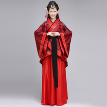 Chinese style traditional Hanfu female adult dress costume improvement Qufu Han Dynasty skirt costumes