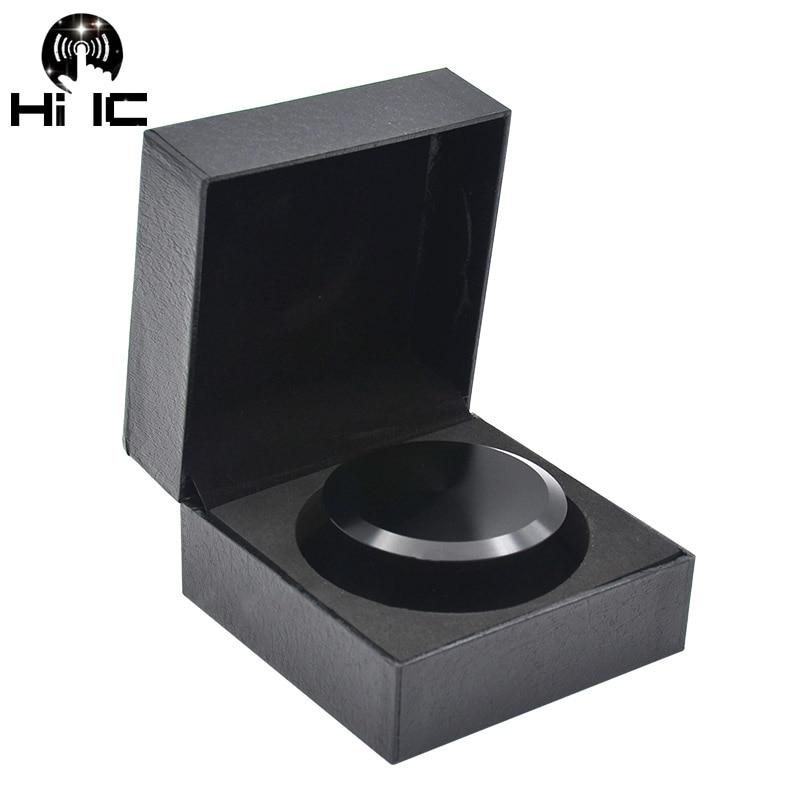 Sinnvoll Lp Vinyl Plattenspieler Metall Disc Stabilisator Rekord Gewicht/clamp Schallplatte Plattenspieler Vibration Ausgewogene Matte Schwarz Aluminium Tragbares Audio & Video