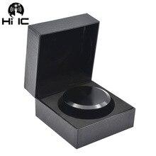 LP Vinyl Plattenspieler Metall Disc Stabilisator Rekord Gewicht/Clamp Schallplatte Plattenspieler Vibration Ausgewogene Matte schwarz aluminium