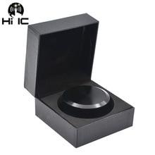 LP Vinyl Turntables Metal Disc Stabilizer Record Weight/Clamp Vinyl Record Turntable Vibration Balanced Matte black aluminum