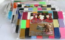 32 цветов Дети мягкая fimo обожженной глины обучение & образование игрушка/Дети Ребенок play тесто полимер моделирование глины, бесплатная доставка