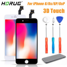2019 100% AAAA 3D Touch Original LCD Screen For iPhone 6 5 6s Plus LCD Display Digitizer Touch Module Replacement Screen LCDS pegasus original 3 5 inch lcd screen tm035kdh12 page 6