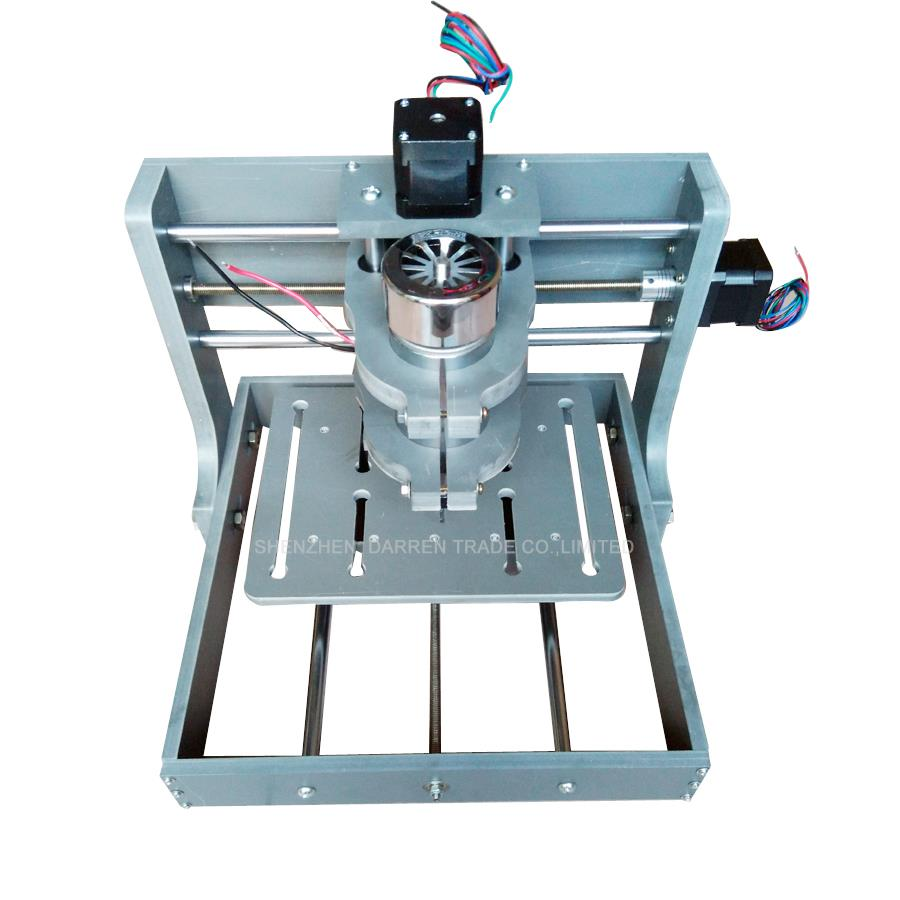 1pcs  DIY CNC Wood Carving Mini Engraving Machine PVC Mill Engraver Support MACH3 System PCB Milling Machine CNC 2020B acctek mini cnc desktop engraving machine akg6090 square rails mach 3 system usb connection