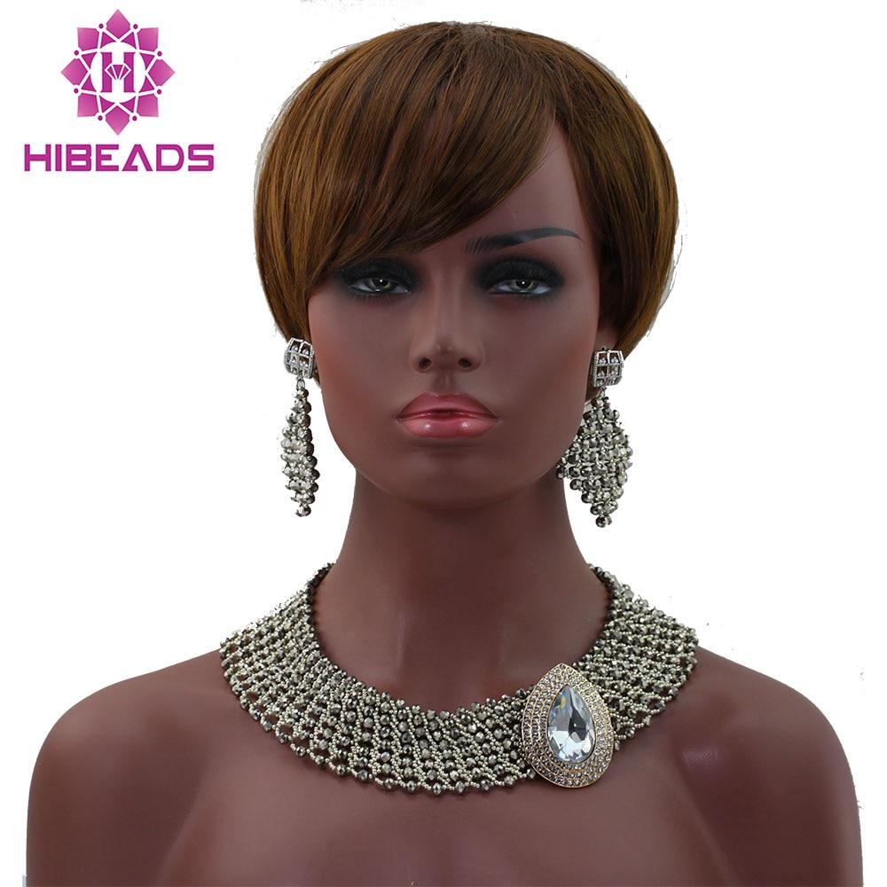 Argent vente chaude ensemble parti collier bijoux ensemble femmes perles africaines livraison gratuite hx200Argent vente chaude ensemble parti collier bijoux ensemble femmes perles africaines livraison gratuite hx200