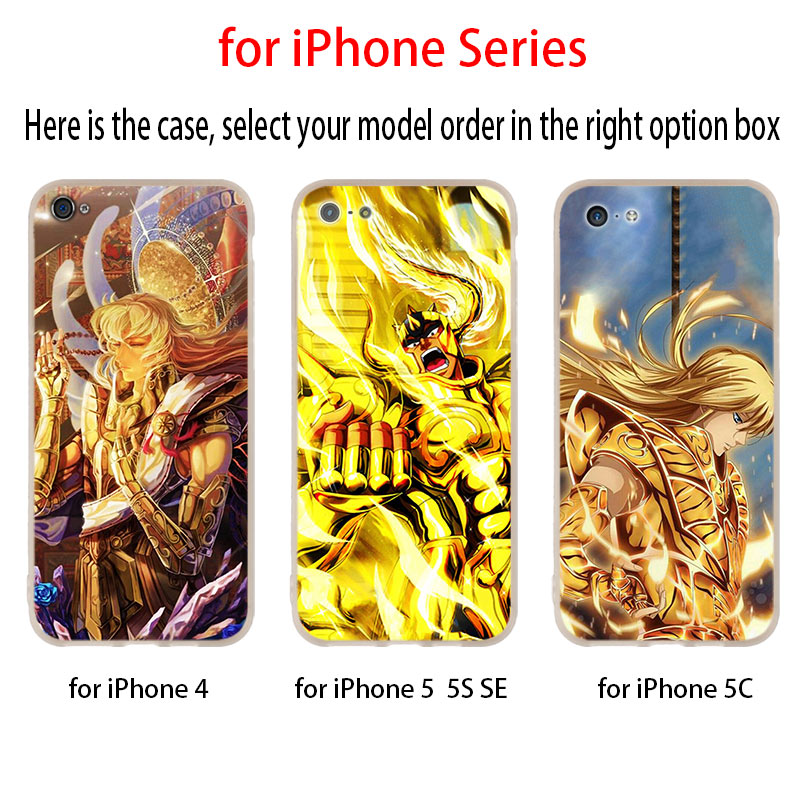 Image 2 - Saint Seiya Case for iphone XS 11 Pro Max XR X 10 Cover Phone Cases for iphone 7 8 plus 6s 5 4sFitted Cases   -