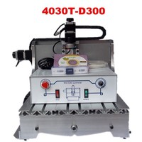 Free Shipping To Russia Free Tax Hot Selling Cnc Engraving Machine CNC 3040T D 300W Router