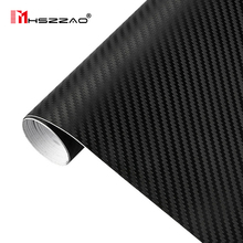 127cmx30cm 3D 3M Auto Carbon Fiber Vinyl Film Car Wrap Sheet Roll Paper Motorcycle Stickers Decal Styling