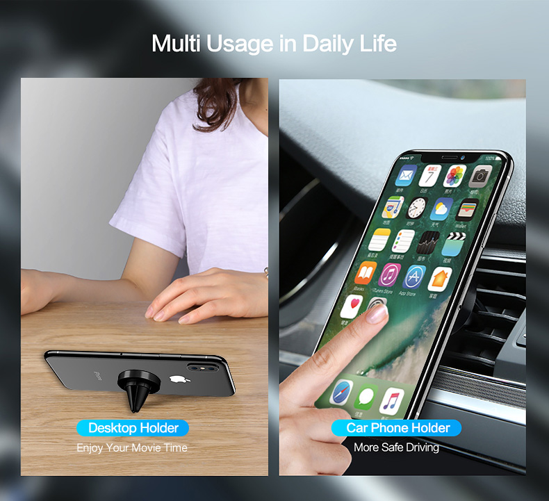 magnetic car  phone holder for air vent (4)