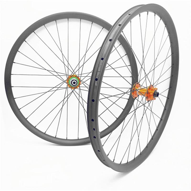 ESPÉRONS pro4 boost carbone roues VTT 27.5er 29er XD VTT vélo roues UD mat VTT vélo roues 30/35mm largeur 1420 a parlé