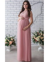 Evening Dresses Pregnant Sleeveless Pink Long Party Dresses Vestidos Ever Pretty Vestido Preto Longo