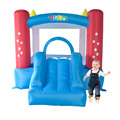 Yard venda quente mini bouncer inflável jumper com ventilador