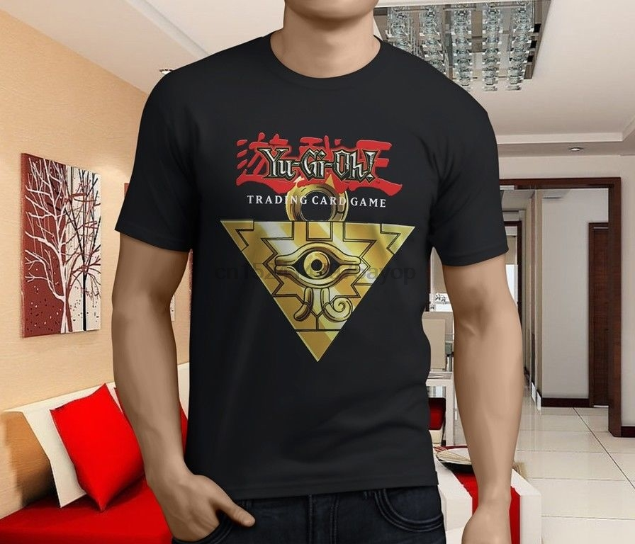 Tops & Tees 2019 Fashion Yugioh Logo Yu Gi Oh Card Game Blue Eyes Silver Dragon T Shirt Tee Casual Short Sleeve Tee Mens Tee Shirts New Arrival Tees 100% Original
