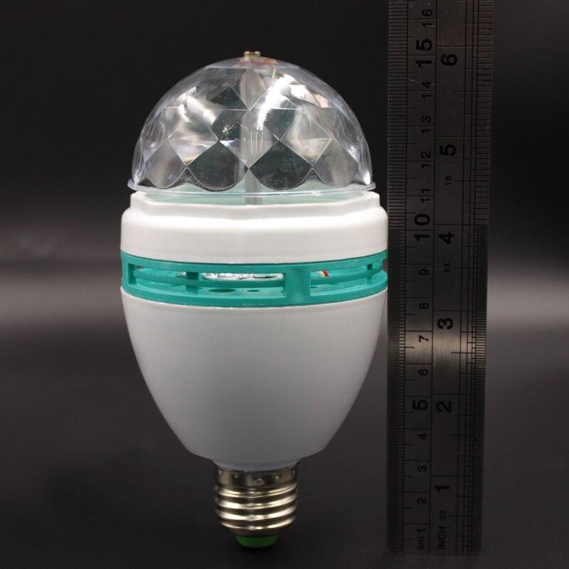Lâmpadas Led e Tubos rgb lâmpada Light Rgb dj Watt : 3w Rgb Bulb Lamp