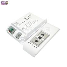 Высокая Напряжение AC90-240V DM014 светодиодный Яркость RF Диммер Беспроводной 3 кнопок пульта дистанционного управления с задней кромкой затемнения Диммер для Светодиодный свет лампы