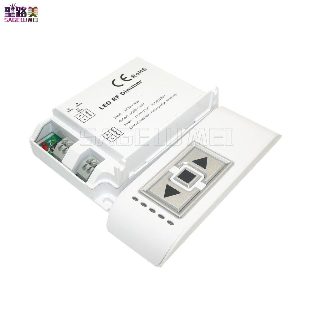 high voltage ac90 240v dm014 led brightness rf dimmer. Black Bedroom Furniture Sets. Home Design Ideas