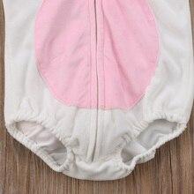 Baby Silver Horn Unicorn Hood Vest Romper Bodysuit