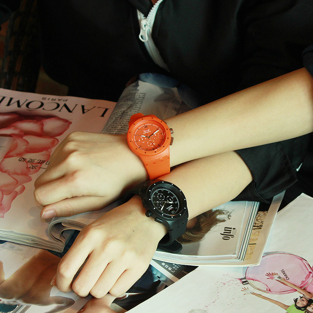 Clock Couple Watch Waterproof Women Mens Lovers Relogio Boy Girl And Gift Quartz Silicone