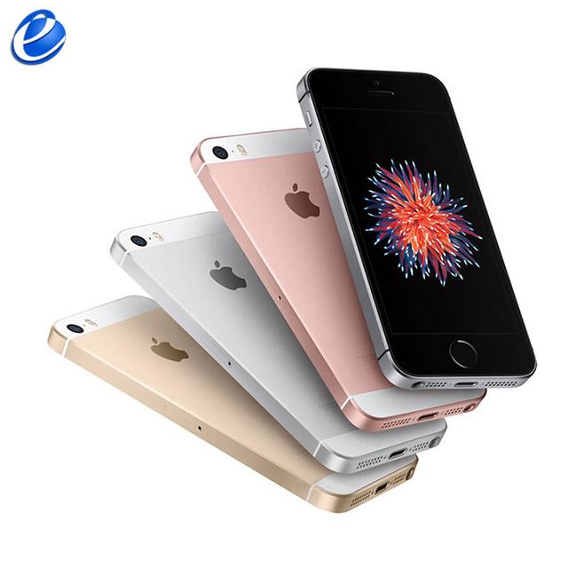 Original Unlocked Apple iPhone SE Fingerprint Dual-core 2GB RAM16/64GB ROM Touch ID 4G LTE Smartphone Sealed Mobile Phone