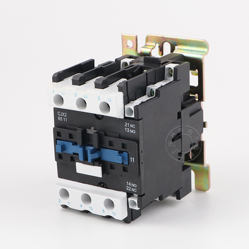 AC contactor CJX2-6511 three-phase contactor 380V 220V 65A guarantee silver point LC1-D65 sayoon dc 12v contactor czwt150a contactor with switching phase small volume large load capacity long service life