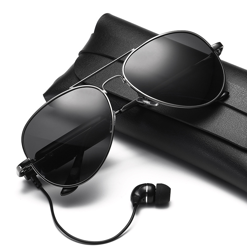 2020 New Multi-function Polarized Bluetooth Headset Sunglasses Wireless Music Earphones Micro USB Hands-free Outdoor Sun Glasses