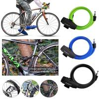 Lock Bike Anti Theft Passward Bicycle Steel Wire Mountain Outdoor Resettable