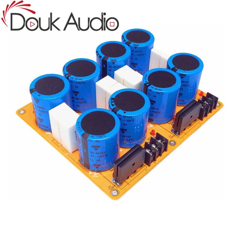 Douk Audio Power Amplifier Rectifier Filter Power Board Dual ChannelDouk Audio Power Amplifier Rectifier Filter Power Board Dual Channel