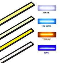 Hausnn lâmpada de led, 17cm, cob, drl, 100%, à prova d' água, luz diurna, para estacionamento, dc12v, luzes externas, para barra de neblina venda quente