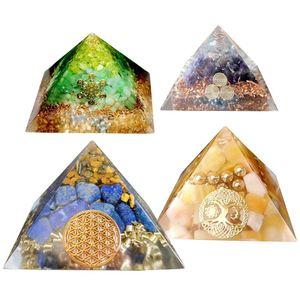 Image 2 - משלוח חינם גדול שרף תבניות פירמידת תבניות, שרף עובש סיליקון DIY Orgonite פירמידת, תכשיטי כלים, אפוקסי שרף תבניות