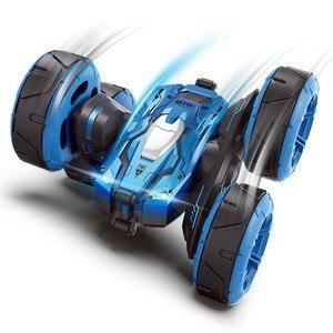 Image 2 - Радиоуправляемый автомобиль, супер четырехколесный привод, внедорожный Радиоуправляемый автомобиль, дрифт, деформация трюка, двусторонний автомобиль, перезаряжаемый детский игрушечный автомобиль