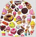 2015 nueva Harajuku style hombres / mujeres hoodies de Donut helado de impresión 3d sudaderas Unisex puente plus tamaño S-3XL envío gratis