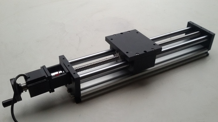 Linear motion system of ball screw slide screw slide slide for Motorized linear motion slides