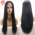 Silky Straight 13*6 Lace Front Wigs Brazilian Virgin Hair Lace Front Human Hair Wigs For Black Women Deep Part Front Lace Wigs