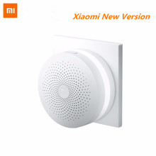 2017 New Xiaomi Gateway Mi Smart Control Center Smart Home Kit Upgrade version Control Radio Yi Camers other smart home kits