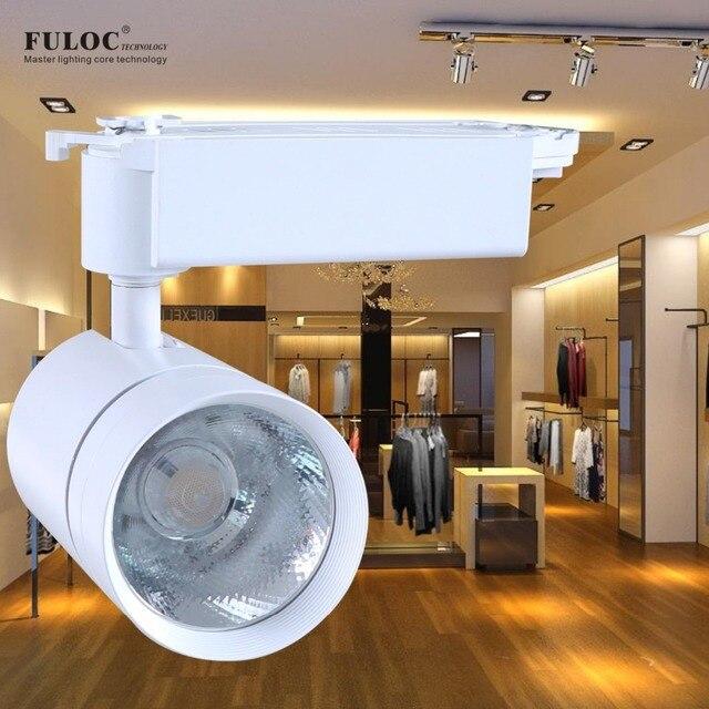 Led Track Light High Quality 10w 15w 20w 25w Spotlight Lighting Cob Rail