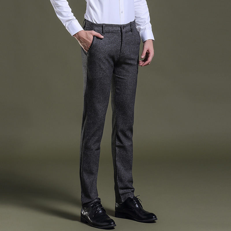 Compare Prices on Slim Fit Suits Pencil Trousers- Online Shopping ...