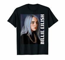 When Partys Over Billie Eilish Ocean Eyes Bad Guy Black T-Shirt For Fans S-6XL  2019 Brand T Shirt Men Fashion